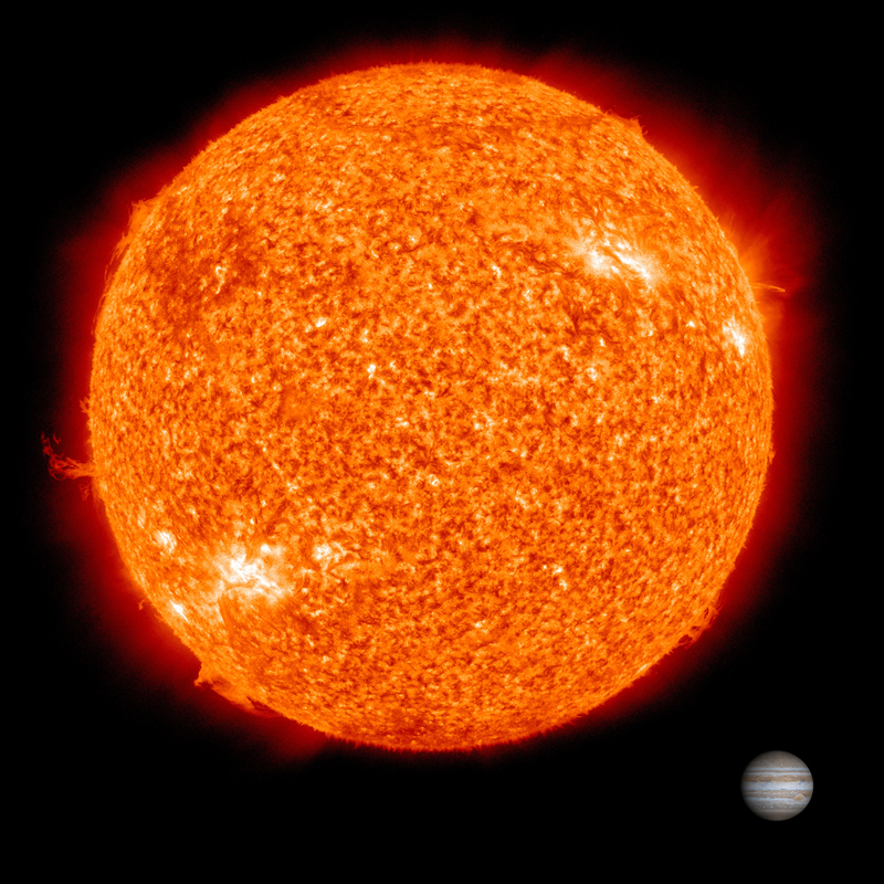 The Sun comprises 99.86% of all the mass in the solar system.